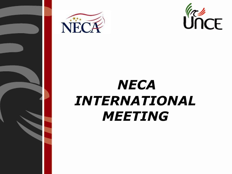 NECA INTERNATIONAL MEETING