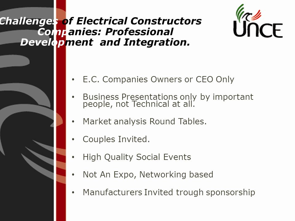 Challenges of Electrical Constructors Companies: Professional Development and Integration.