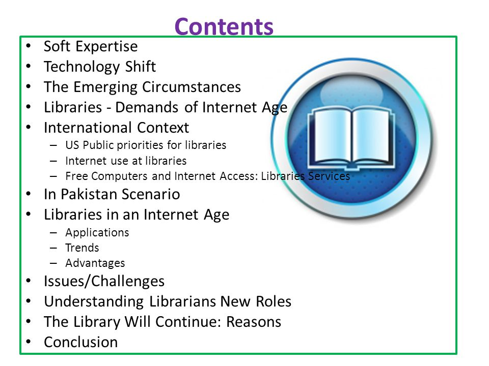 http://www.digitallibrary.edu.pk/Index.php ChallengesFrequency Need of more trained staff to help users.7 Lack of formal orientation programme6 Electricity failure5 Improve the use of e-collection4 Preservation of sources3 Technical support and security3 Digital collection is substitute to library3 Below are challenges faced by library professionals in the use of NDL and in spreading awareness of it.