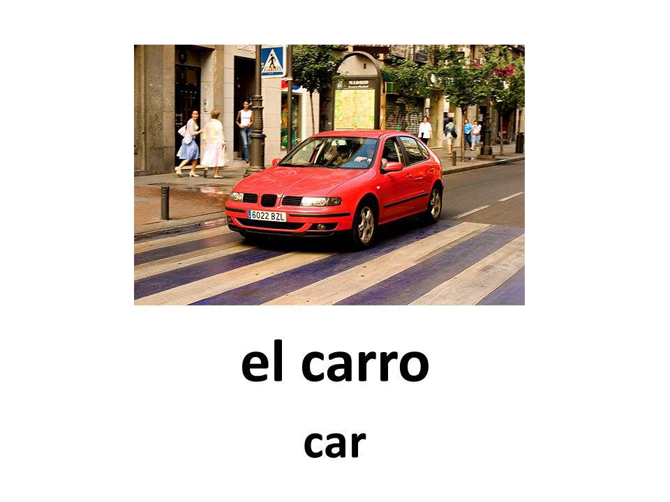 el carro car