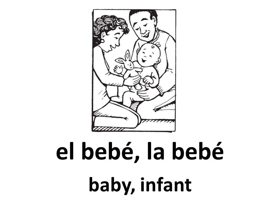 el bebé, la bebé baby, infant