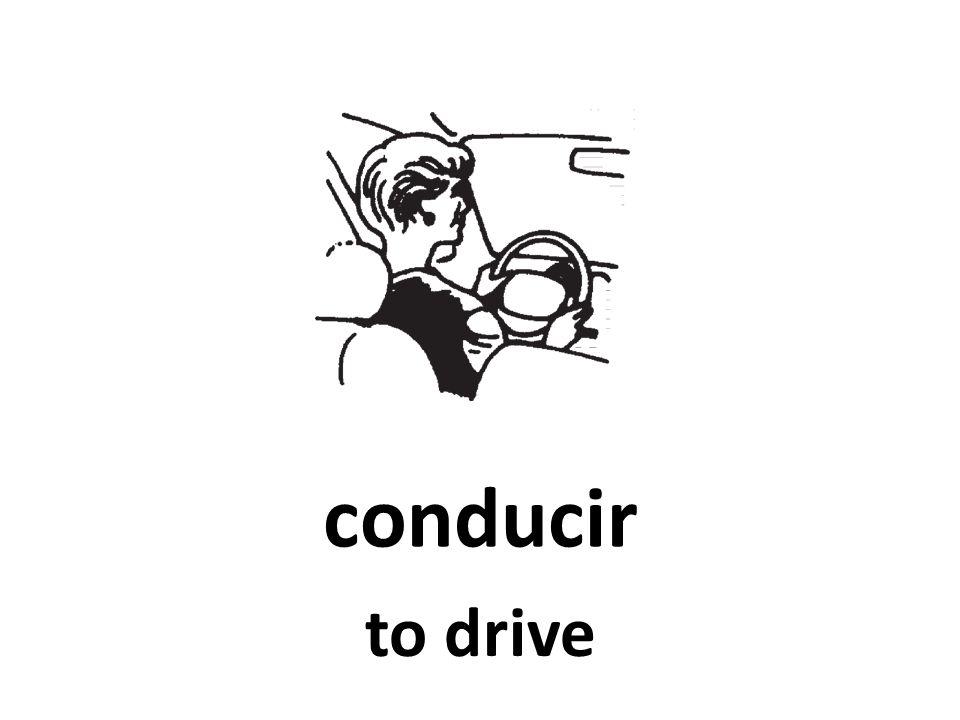 conducir to drive