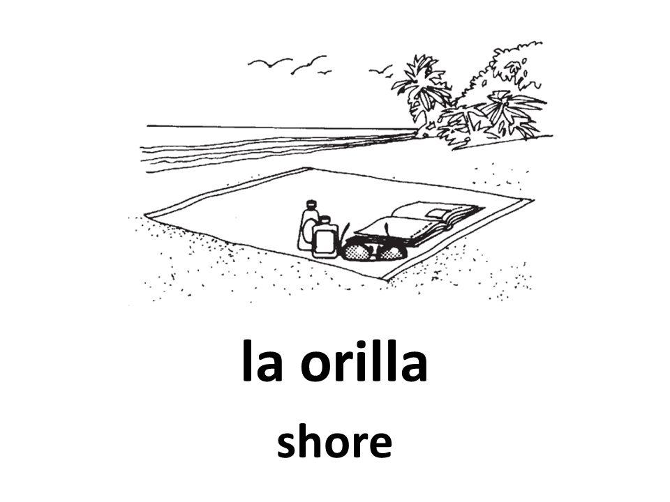 la orilla shore