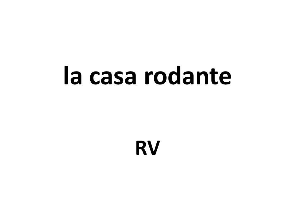 la casa rodante RV