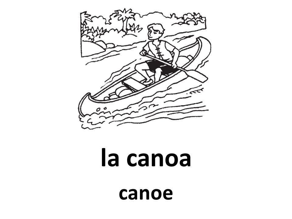 la canoa canoe