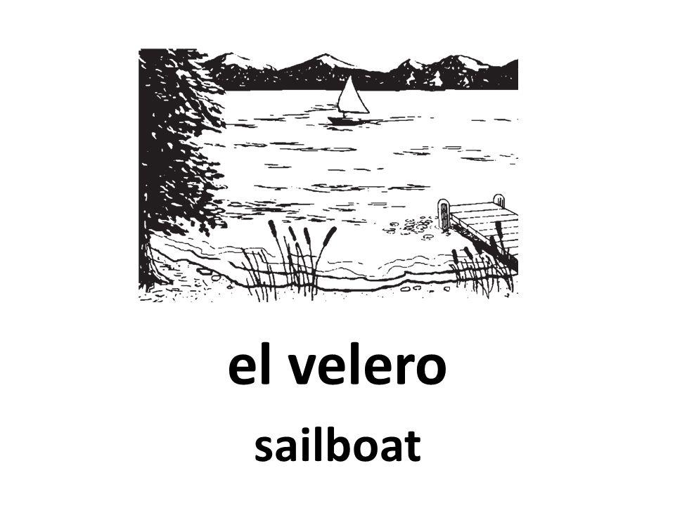 el velero sailboat