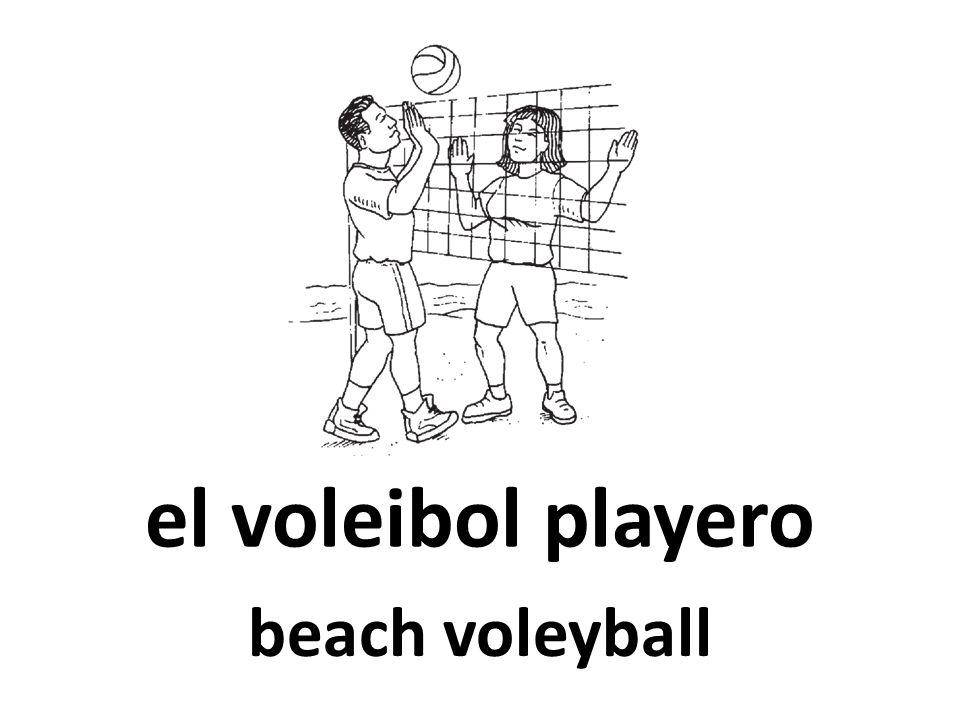 el voleibol playero beach voleyball