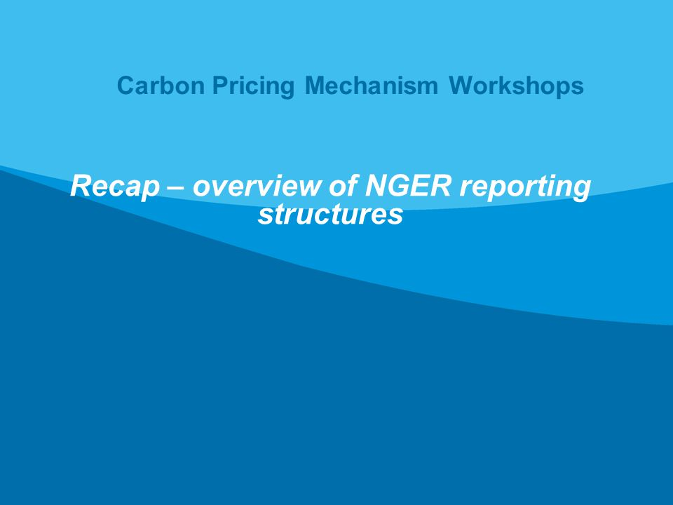 National Greenhouse and Energy Reporting (NGER) Act 2007 The NGER Act, passed in 2007, introduced a national framework for the reporting and dissemination of information relating to greenhouse gas emissions, energy production and energy consumption The NGER Act created reporting obligations.