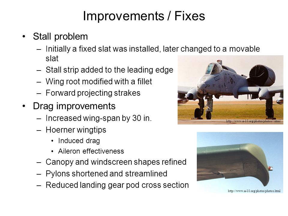 Comparison with other Attack Aircraft * With combat load ** With external fuel tanks (tanks retained)