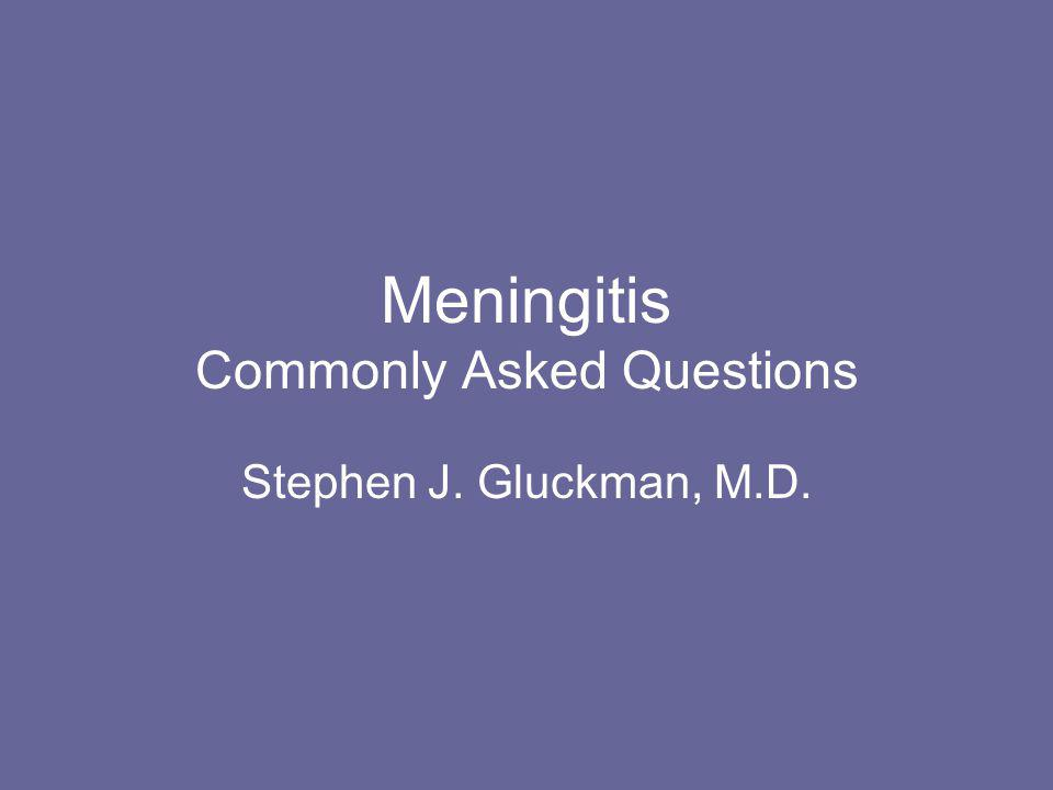 What are the common causes of bacterial meningitis.