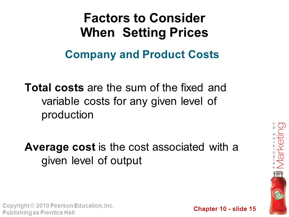 Chapter 10 - slide 15 Copyright © 2010 Pearson Education, Inc.