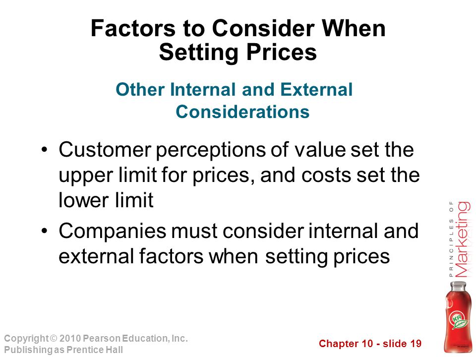 Chapter 10 - slide 19 Copyright © 2010 Pearson Education, Inc.