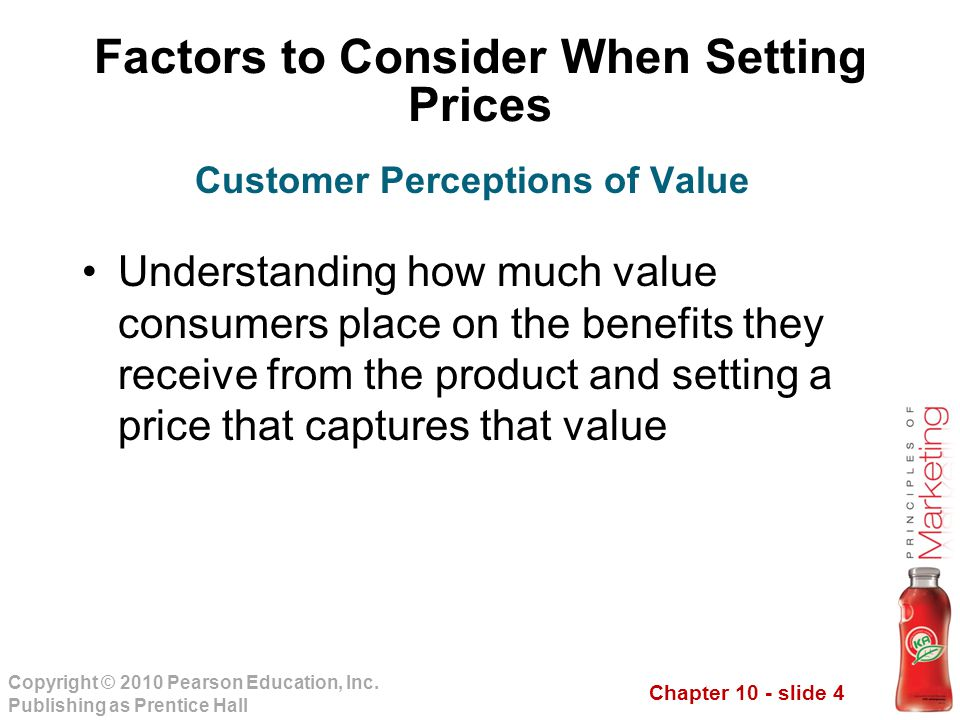 Chapter 10 - slide 4 Copyright © 2010 Pearson Education, Inc.