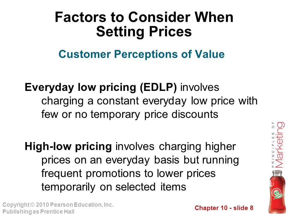 Chapter 10 - slide 8 Copyright © 2010 Pearson Education, Inc.