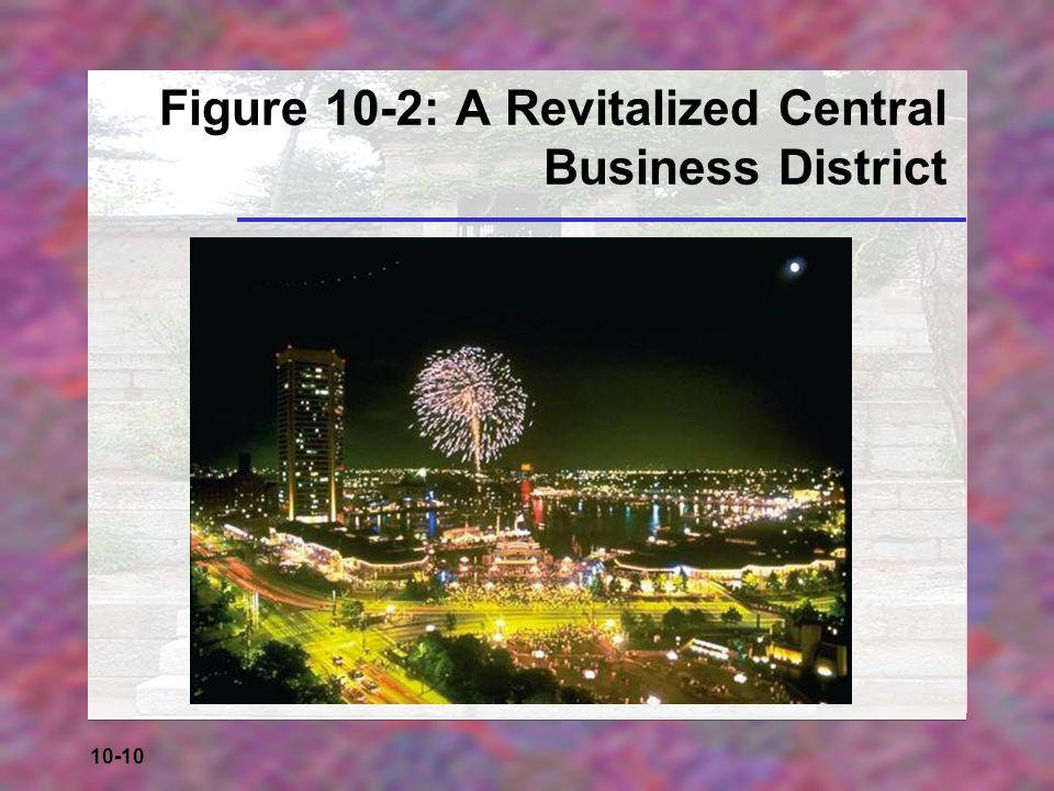 10-10 Figure 10-2: A Revitalized Central Business District