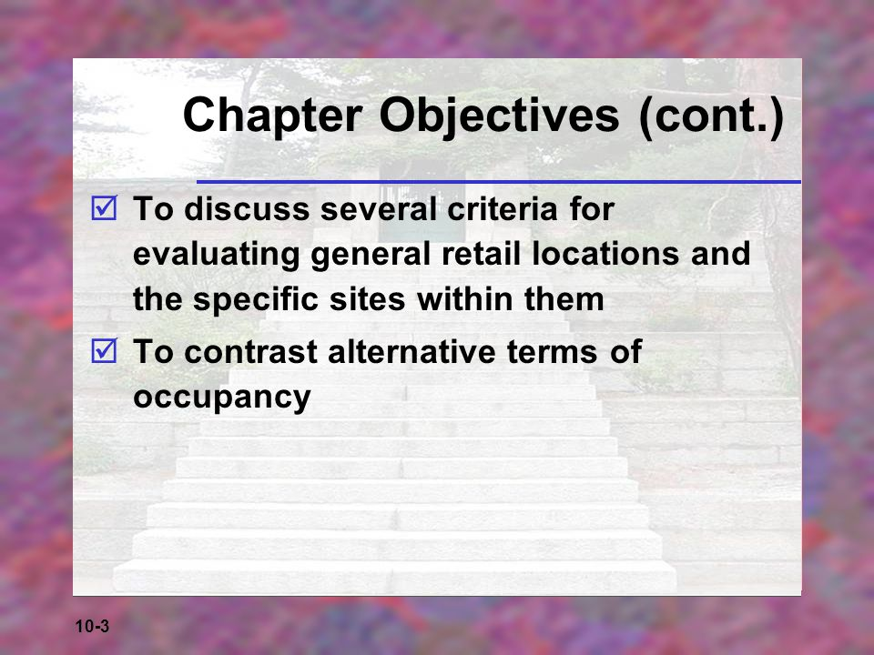 10-14 Table 10-1a: Characteristics of Centers