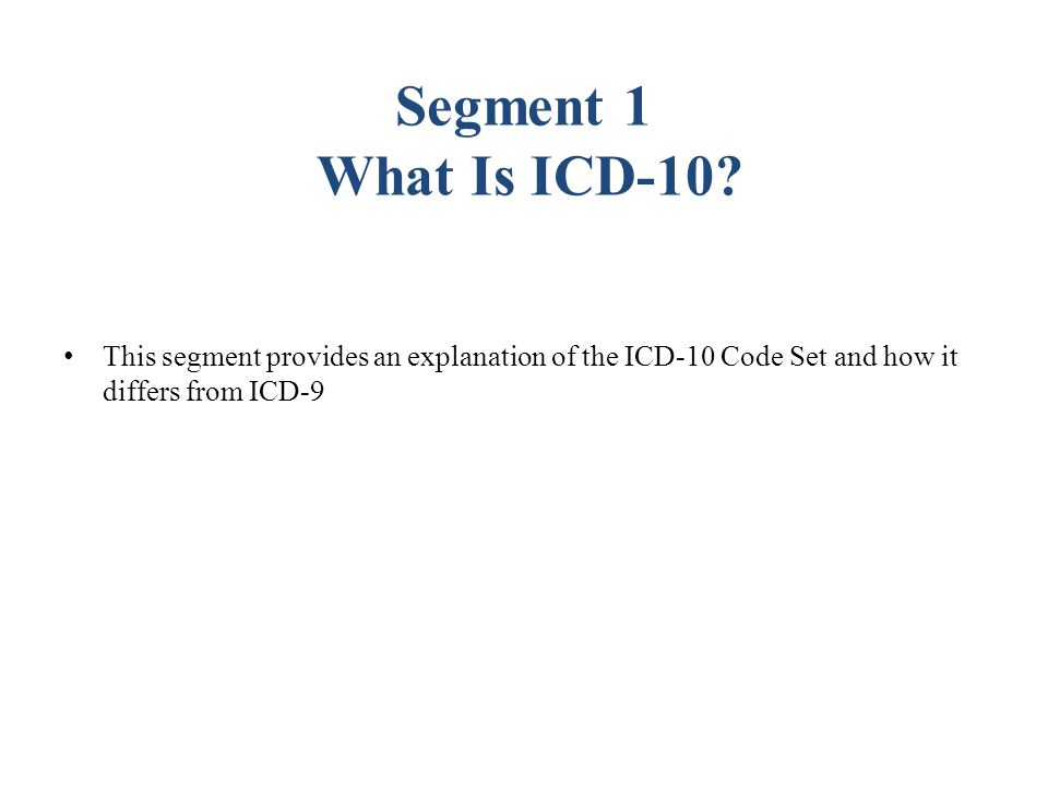 Examples of ICD-10-CM Specificity  Sports injuries now coded with sport and reason for injury ICD-9 code - Striking against or struck accidentally in sports without subsequent fall (E917.0) 24 ICD-10-CM Detail Codes