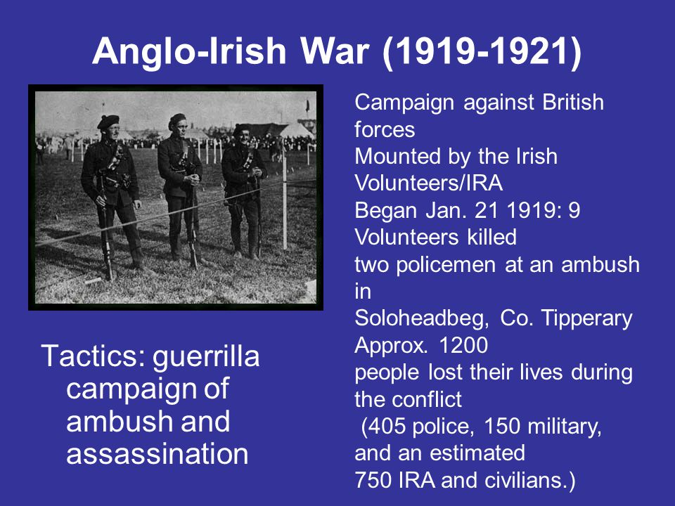 The Soloheadbeg ambush was unpopular with many members of Sinn Féin The Soloheadbeg incident may be regarded as an expression of militant republican frustration with Sinn Féin's political initiatives The Volunteers took action to ensure that the Sinn Féin leadership did not compromise the republican demand