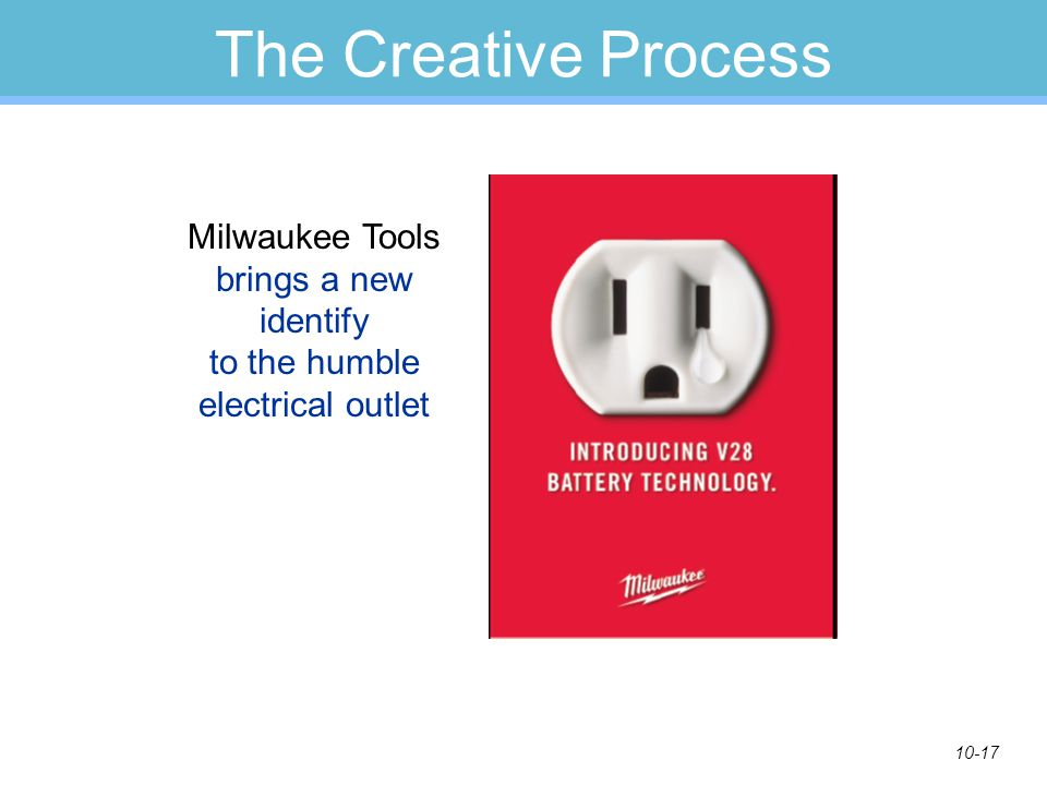 10-17 The Creative Process Milwaukee Tools brings a new identify to the humble electrical outlet