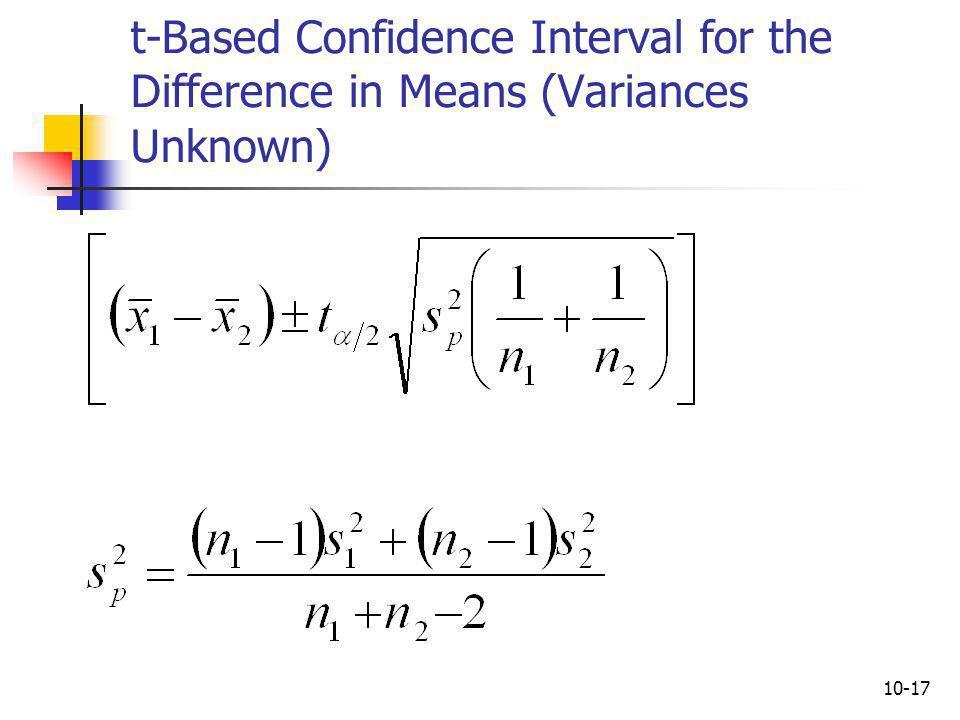 10-18 Example 10.3: The Catalyst Comparison Case