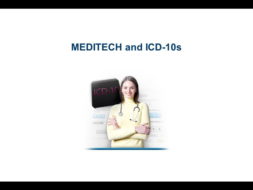 MEDITECH and ICD-10s