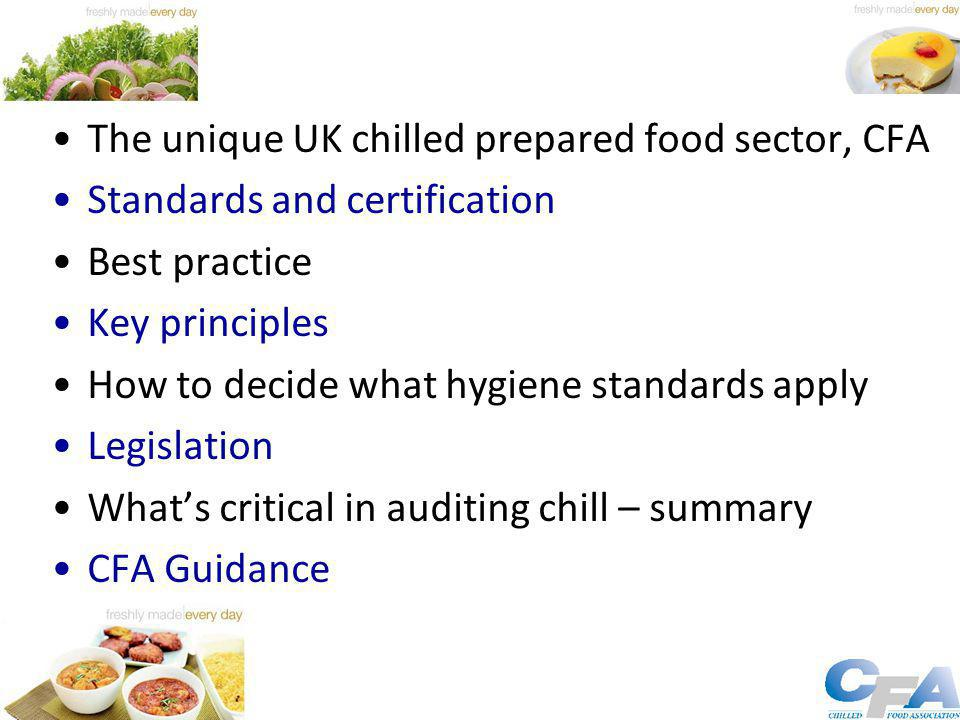 UK Retail Chilled Prepared Food Industry YearMarket (£m) 1989550 19994550 20057357 20109163 Chilled foods' unique position Predominantly UK-made - Very few finished product imports Unpreserved Just in time HACCP from the outset Exacting microbiological standards Significant annual new product development Retail brand dominance, although brands now emerging