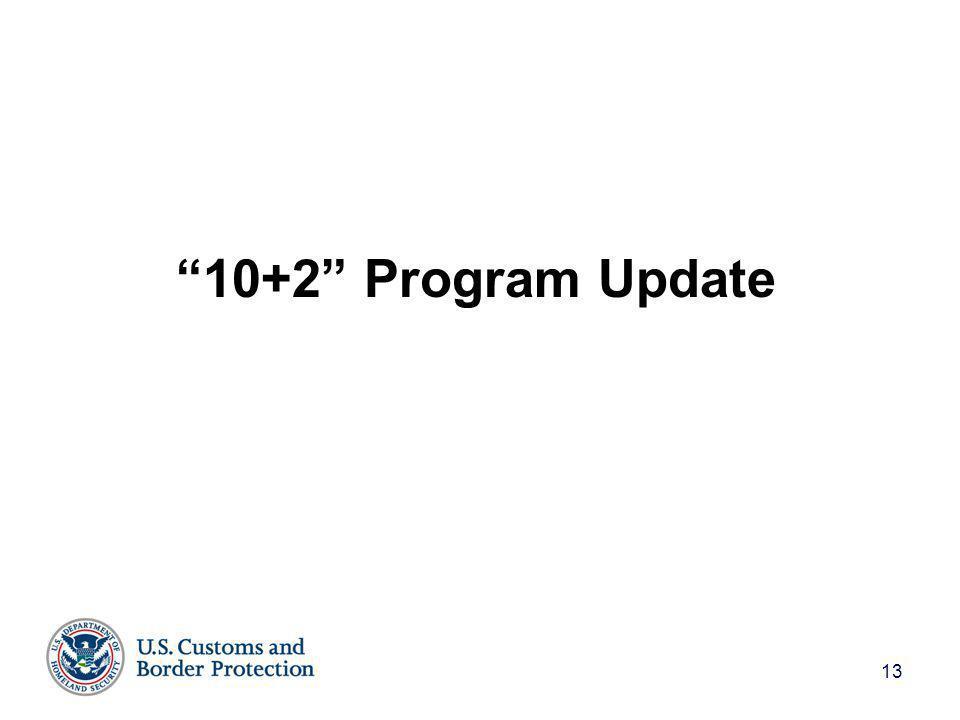 13 10+2 Program Update