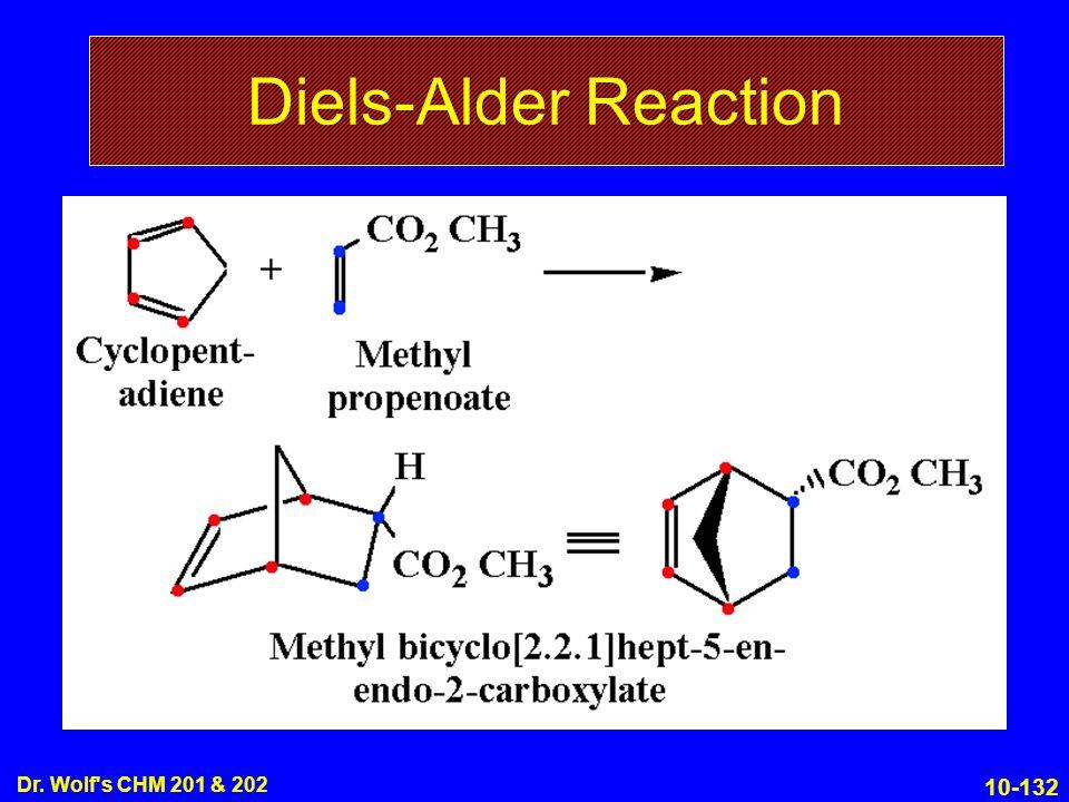 10-132 Dr. Wolf s CHM 201 & 202 Diels-Alder Reaction