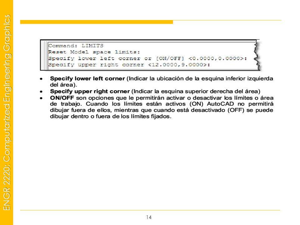 MSP21 Universidad Interamericana - Bayamón ENGR 2220: Computarized Engineering Graphics 14