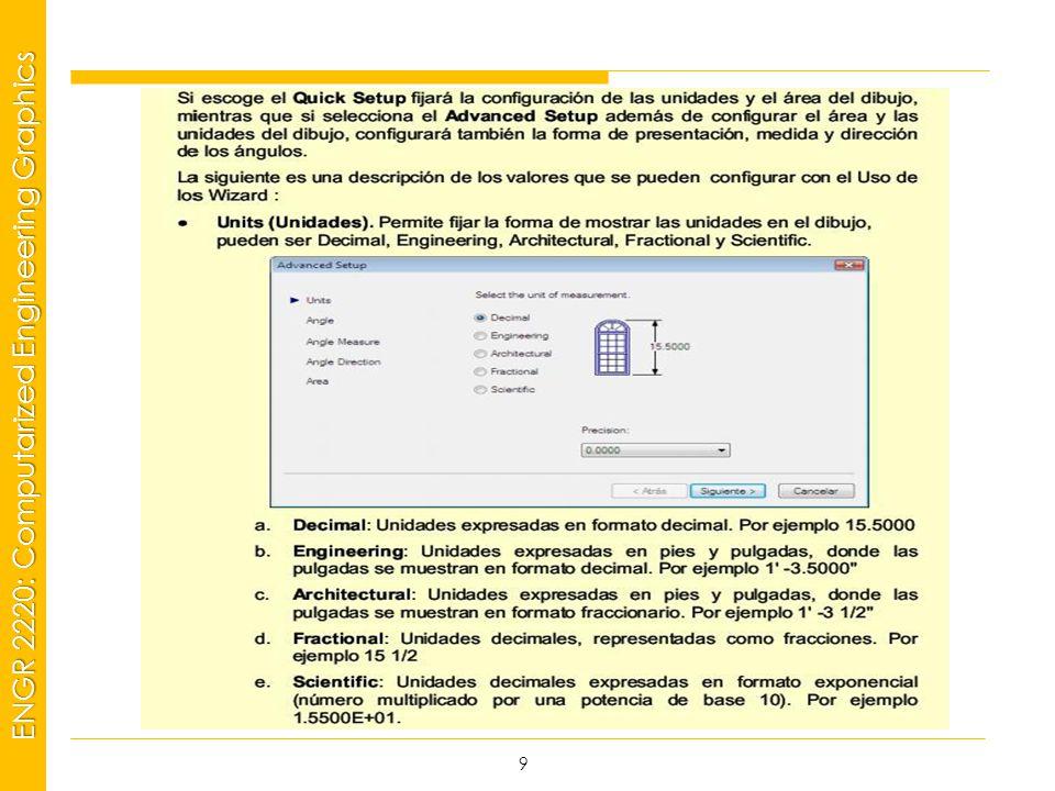 MSP21 Universidad Interamericana - Bayamón ENGR 2220: Computarized Engineering Graphics 9
