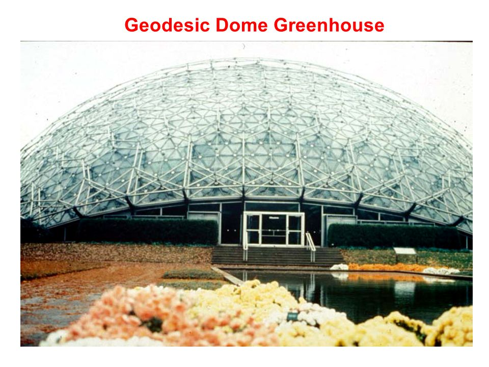 Geodesic Dome Greenhouse