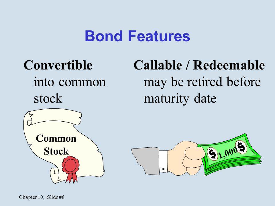 Chapter 10, Slide #9 Bonds Prices Market rate v.