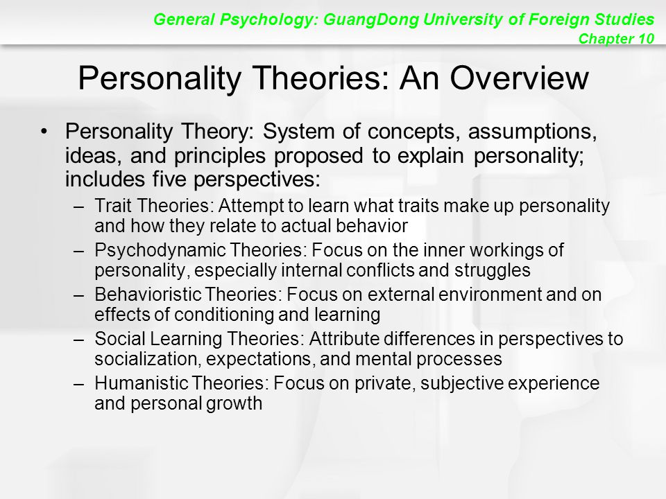 psychology and personality essay 1 psy30008 psychology of personality assignment is theread more about psychology-is personality associated with humour use essays and other.