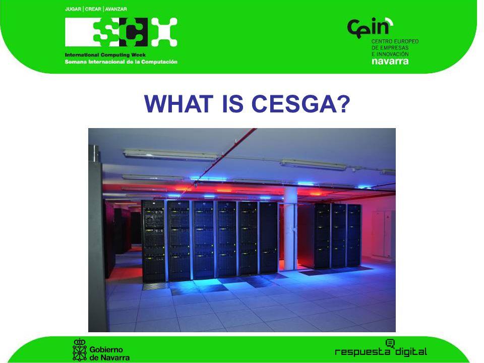 CESGA WHAT IS CESGA
