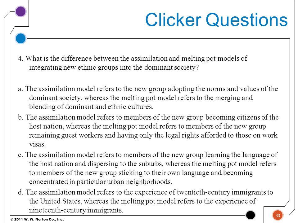 © 2011 W.W. Norton Co., Inc. Clicker Questions 4.