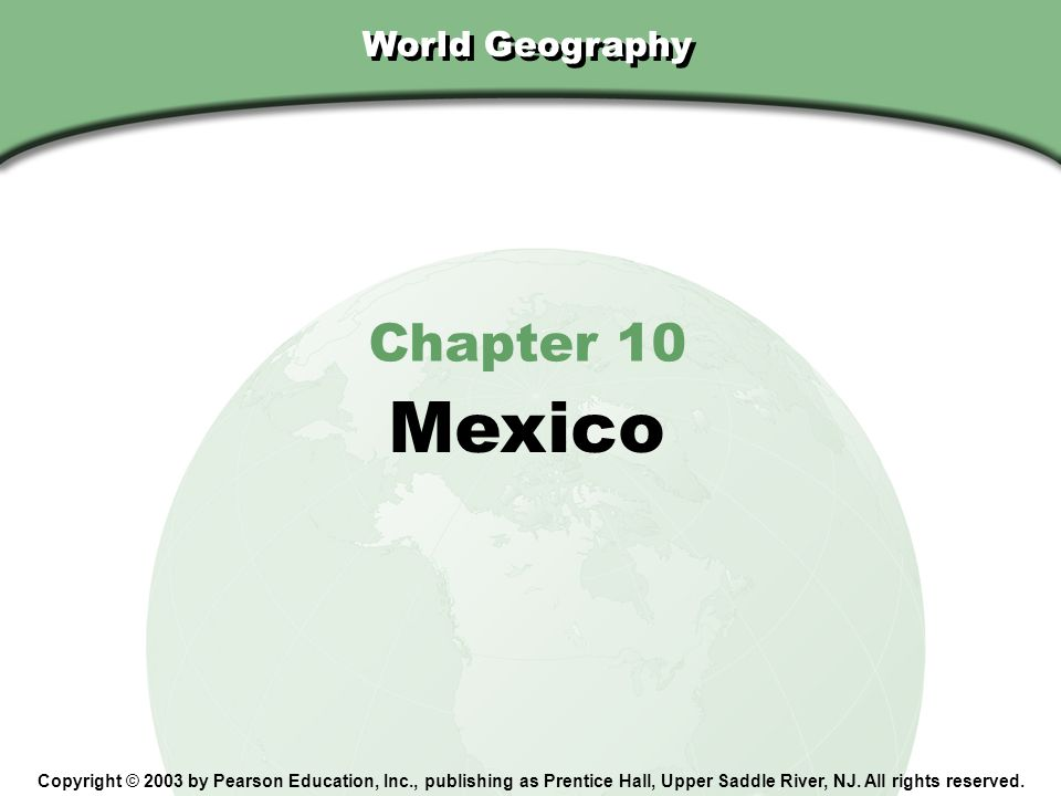 Chapter 10, Section Since NAFTA was passed, manufacturing has increased and unemployment has declined in Mexico.