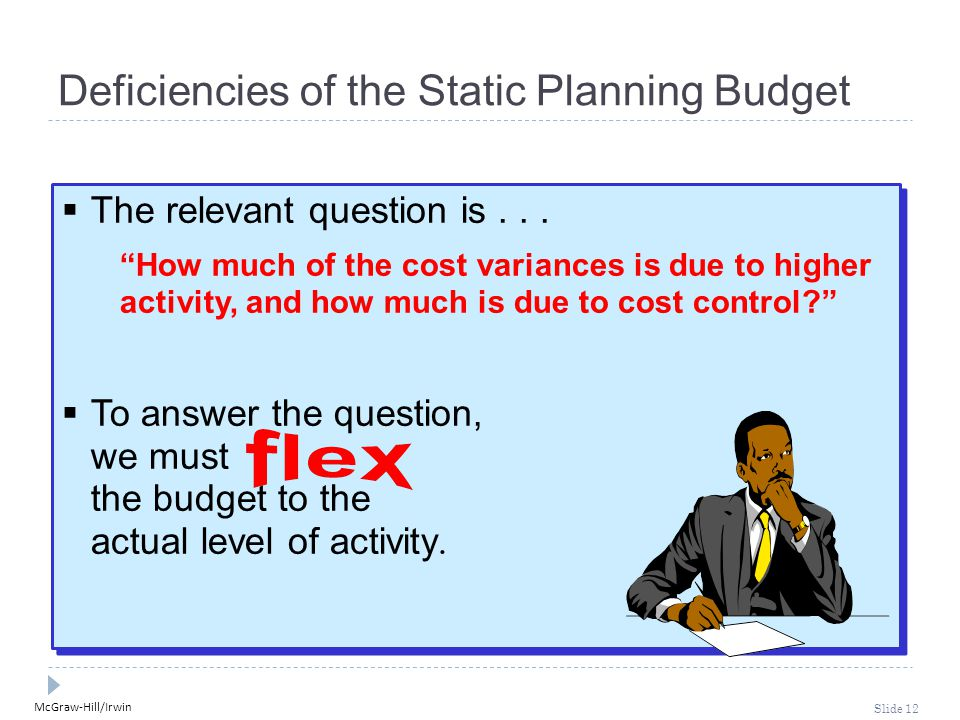 McGraw-Hill/Irwin Slide 12  The relevant question is...