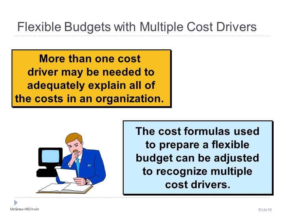 McGraw-Hill/Irwin Slide 36 More than one cost driver may be needed to adequately explain all of the costs in an organization.