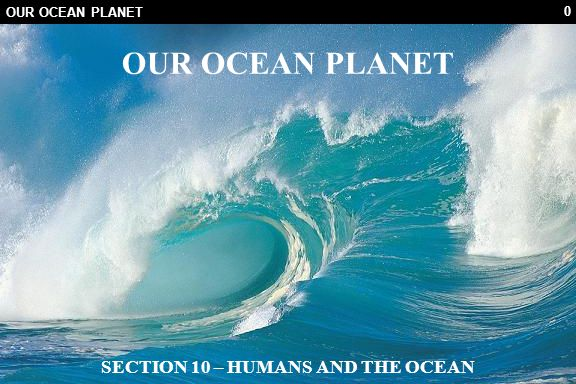 81 10.3 ACTIVITIES 10.3.6 Conservation CORE ACTIVITY (a) List some of the reasons we need the ocean (b) What are some of the problems we are causing.