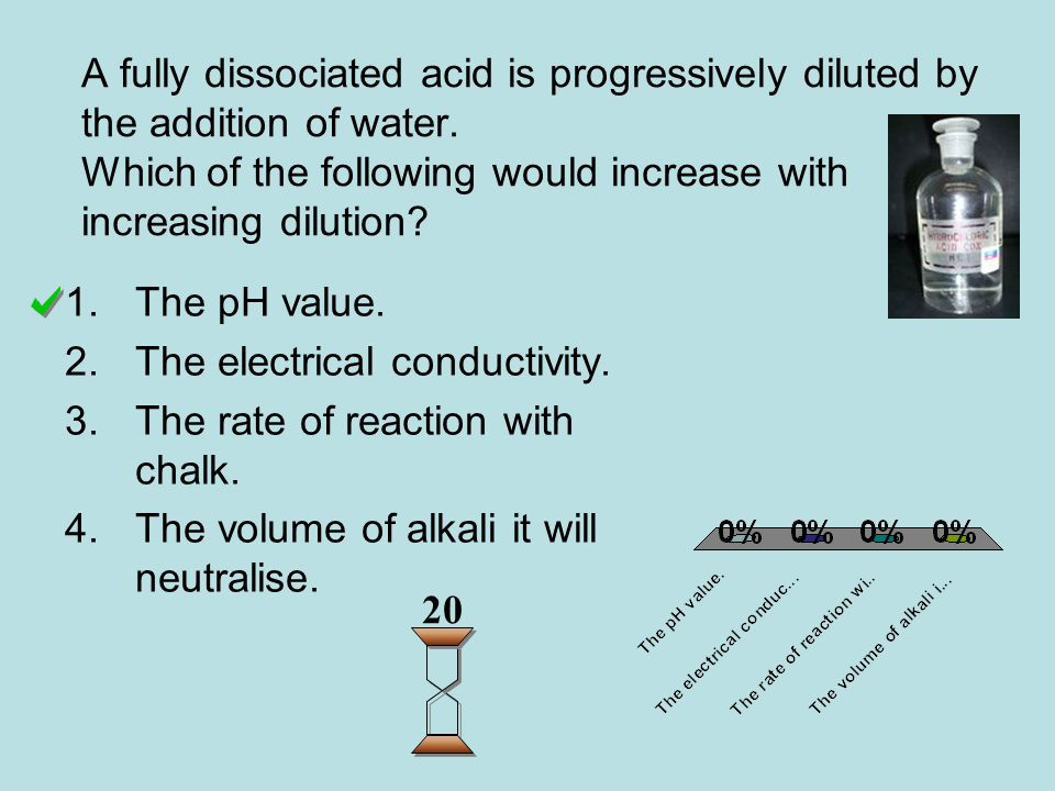 A liquid has a pH value of 10.What is the concentration of H + (aq) ions present, in mol l -1 .
