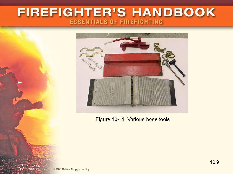 10.9 Figure 10-11 Various hose tools.