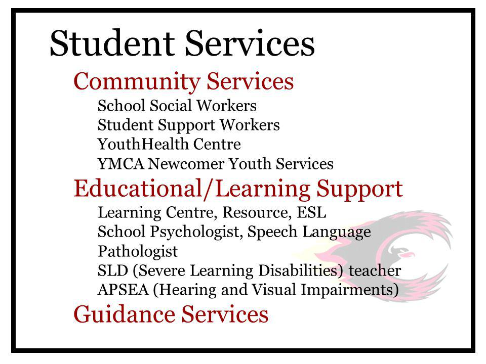 Guidance Services The Counsellors: Courage, Honour, Strength A - F  Ms.