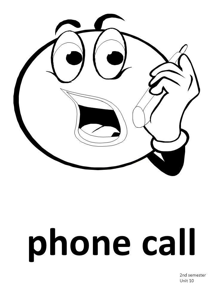 2nd semester Unit 10 phone call