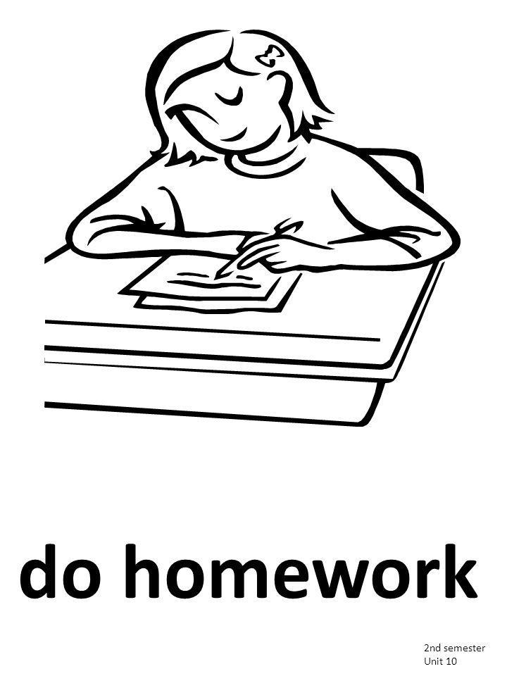 do homework 2nd semester Unit 10