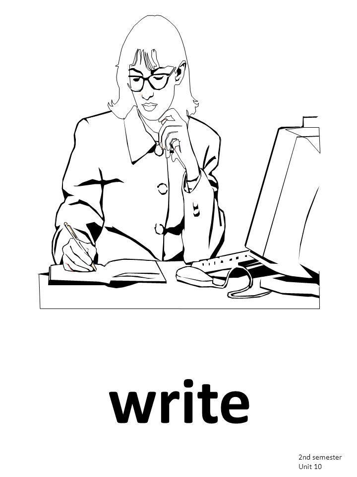 write 2nd semester Unit 10