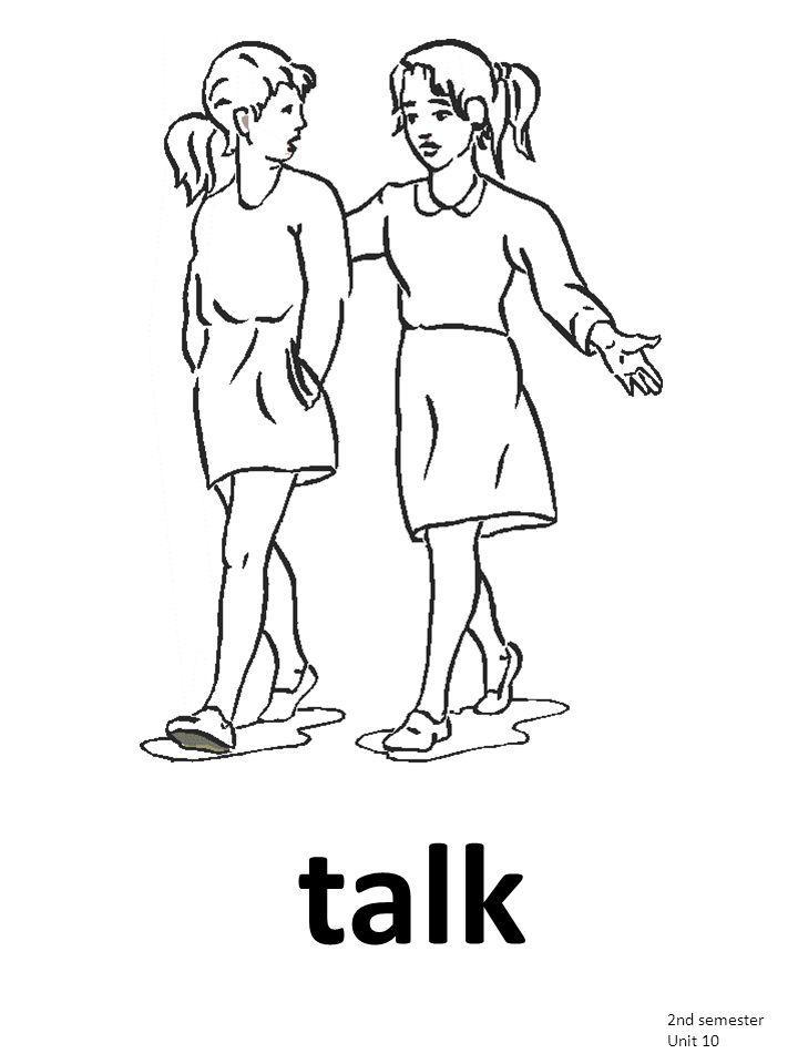 talk 2nd semester Unit 10
