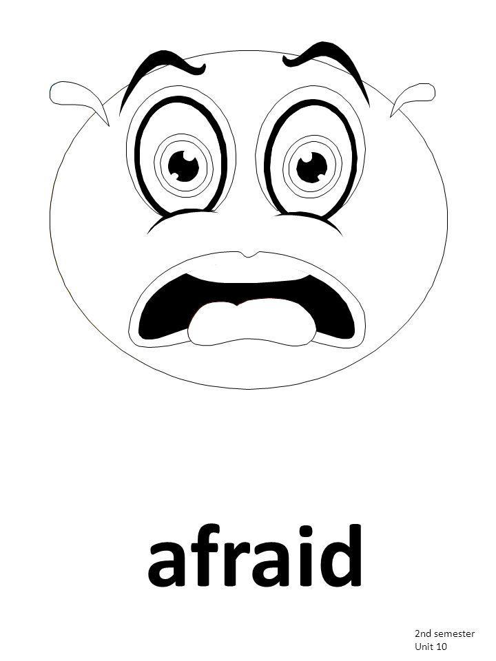 afraid 2nd semester Unit 10