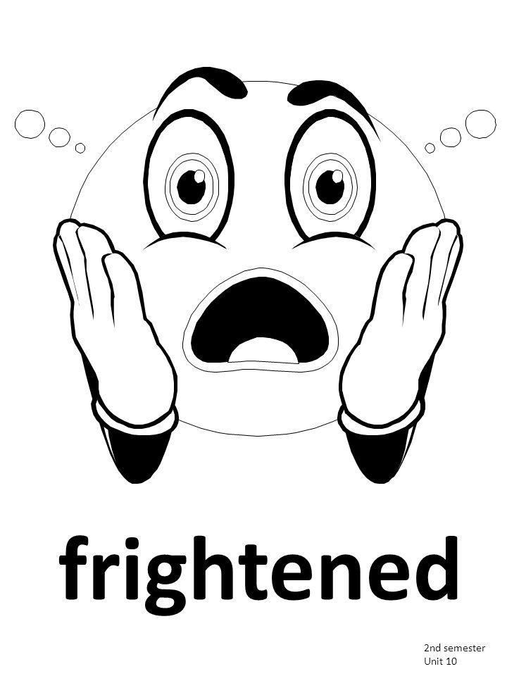 frightened 2nd semester Unit 10