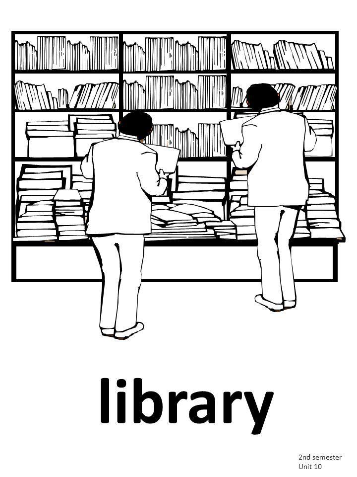 library 2nd semester Unit 10
