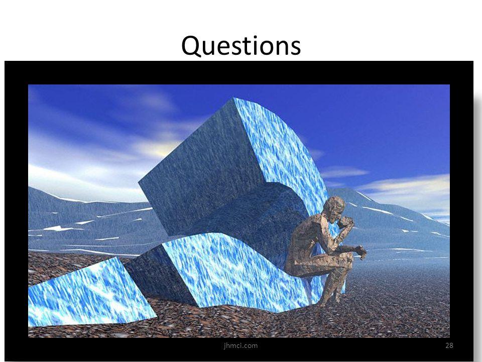 Questions 28jhmci.com